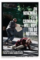 PCC campaign poster - mugger (English)